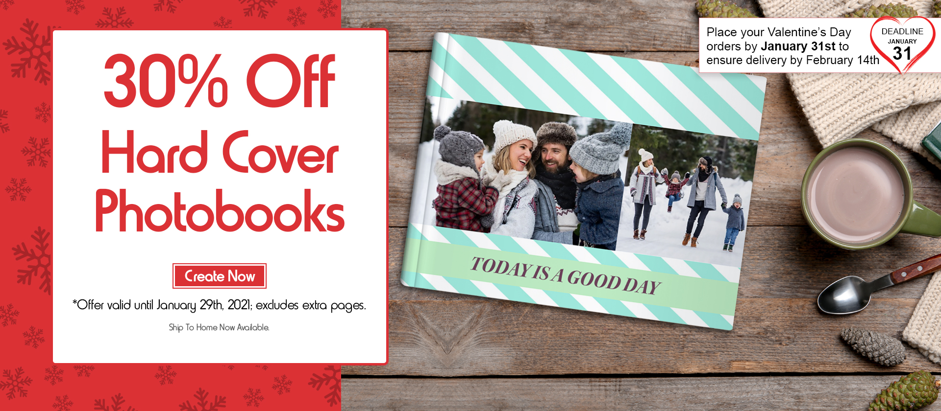 30% Off Hard Cover Photobooks. Create yours now.